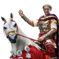 HH MODEL X HAOYU TOYS ROMAN EMPIRE - JULIUS CAESAR SUIT VERSION (WITH HORSE) 1/6 SCALE ACTION FIGURE HH18025