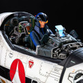 KIDS LOGIC MACROSS (ROBOTECH) VALKYRIE VF-1S COCKPIT 1/12 SCALE MODEL STATUE