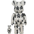 MEDICOM TOYS BE@RBRICK BANKSY FLYING BALLOONS GIRL 100% & 400% VINYL FIGURE