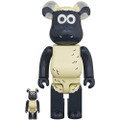 MEDICOM TOYS BE@RBRICK SHAUN THE SHEEP 100% & 400% VINYL FIGURE