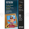 "Epson Glossy Photo Paper 6"" x 4"" 50 Sheets 200gsm"