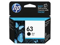 HP No.63 Black Ink - 190 pages