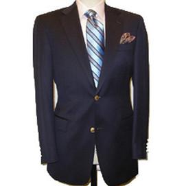 Nowells 100% Wool Navy Blazer