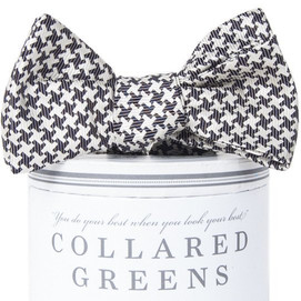 Collared Greens Gatsby Bow Tie - Black