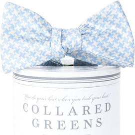 Collared Greens Gatsby Bow Tie - Carolina