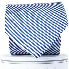 Collared Greens Signature Stripe Series Tie - Navy