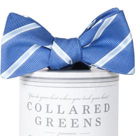 Collared Greens Bogart Bow Tie - Blue/Carolina