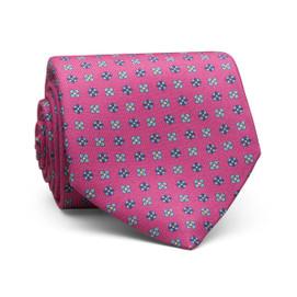 Peter Millar Multi Floral Neat Neck Tie - Pink