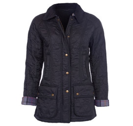 Barbour Women's Polarquilt Beadnell Jacket - Black
