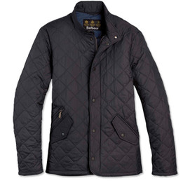 Barbour Flyweight Chelsea Quilt Jacket - Navy