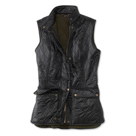 Barbour Women's Fleece Quilted Wray Gilet - Black