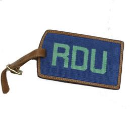 Smathers & Branson RDU Needlepoint Luggage Tag