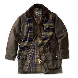 Barbour Beaufort Waxed Cotton Jacket - Classic Olive