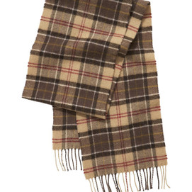 Barbour Muted Tartan Scarf