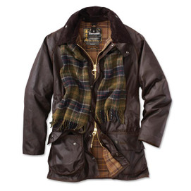 Barbour Beaufort Waxed Cotton Jacket - Rustic