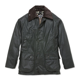 Barbour Bedale Waxed Cotton Jacket - Sage