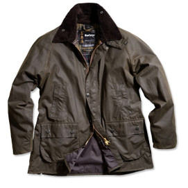 Barbour Bedale Waxed Cotton Jacket - Classic Olive