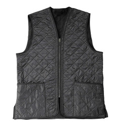 Barbour Polarquilt Vest/Zip-In Liner - Black
