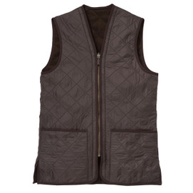 Barbour Polarquilt Vest/Zip-In Liner - Rustic