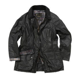Barbour Women's Beadnell Waxed Cotton Jacket - Black