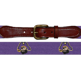 Smathers & Branson East Carolina Needlepoint Belt