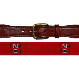 Smathers & Branson North Carolina State Needlepoint Belt