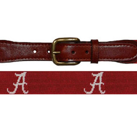 Smathers & Branson University of Alabama Needlepoint Belt