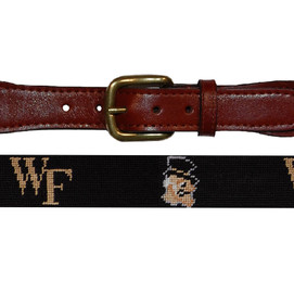 Smathers & Branson Wake Forest University Needlepoint Belt