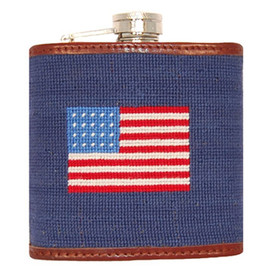 Smathers and Branson American Flag Flask