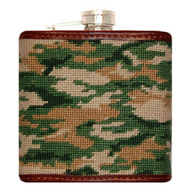 Smathers and Branson Camo Flask