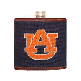 Smathers & Branson Auburn University Needlepoint Flask