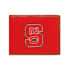 Smathers & Branson North Carolina State Needlepoint Wallet