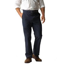 Corbin Prime Poly/Cotton Poplin Pleated Pants