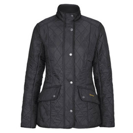 Barbour Women's Calvary Polarquilt Jacket - Black