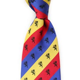 Dogwood Black DEKE Fraternity Woven Necktie