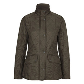 Barbour Women's Calvary Polarquilt Jacket - Olive