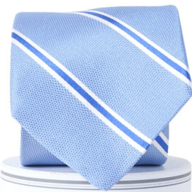 Collared Greens James Neck Tie - Blue