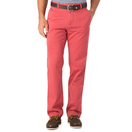 Southern Tide Skipjack Classic Fit Pants - Charleston Red