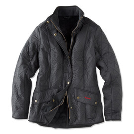Barbour Women's Calvary Polarquilt Jacket - Navy
