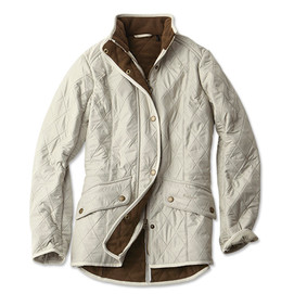 Barbour Women's Calvary Polarquilt Jacket - Pearl