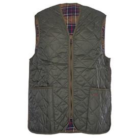 Barbour Quilted Waistcoat/ Zip In Liner - Olive