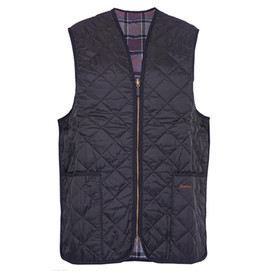 Barbour Quilted Waistcoat/ Zip In Liner - Black