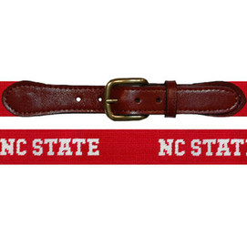 Smathers & Branson North Carolina State Letters Needlepoint Belt