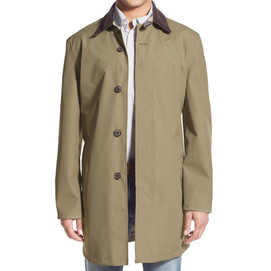 Barbour Waterproof Breathable Mac Jacket - Dress Brown