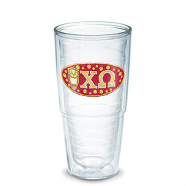 Tervis Tumbler Chi Omega 24 oz Tumbler with Lid