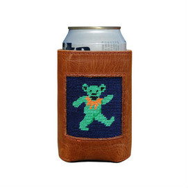 Smathers & Branson Dancing Bear Can Cooler - Navy