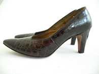 Vintage Shoe Troylings Alligator Pump