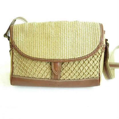 Vintage Etienne Aigner Straw Net Purse
