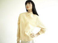Vintage 1960s Dalton Cream Cardigan Sweater