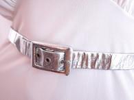 Vintage 1960's Space Age Metallic Belt